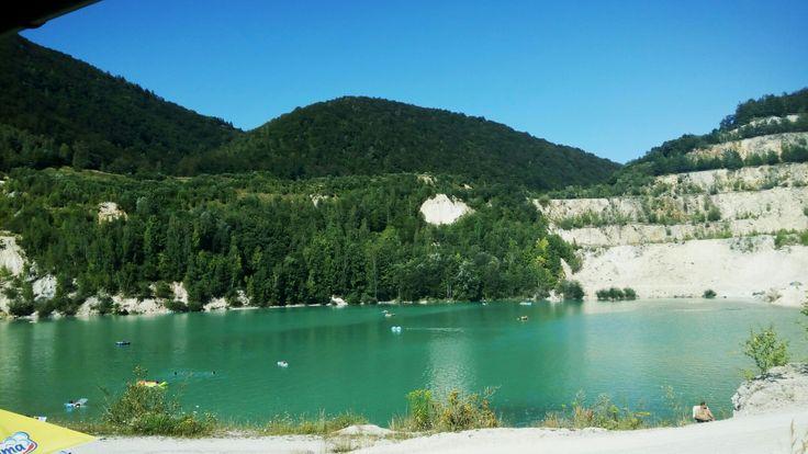 Štútovo - prírodné jazero