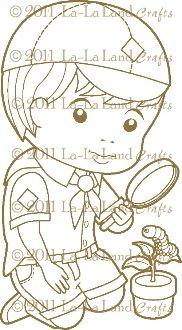 Scout Luka Digi Stamp