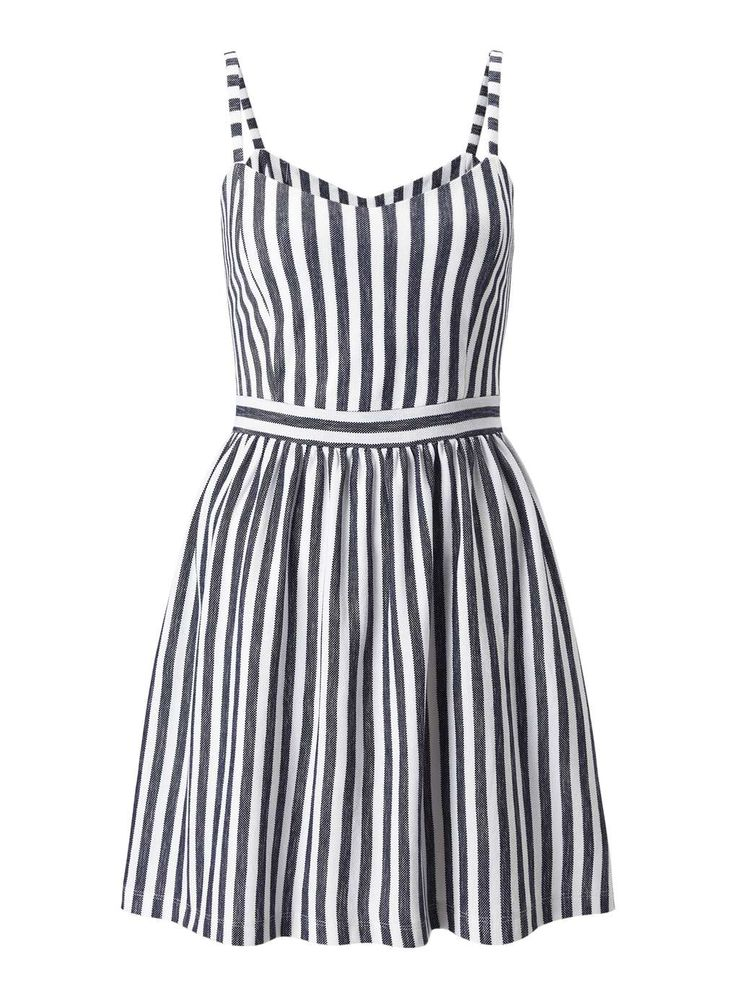 Petites Stripe Sundress at Miss Selfridge <3