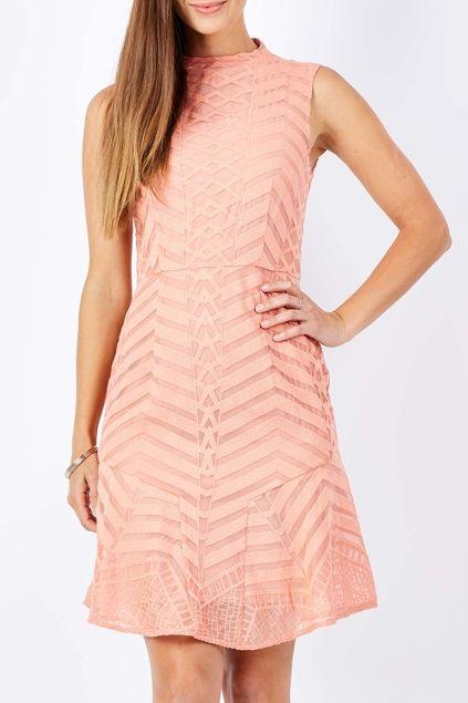 Cooper St Plenteous Embroidered Dress - Womens Knee Length Dresses - Birdsnest Online Clothing Store