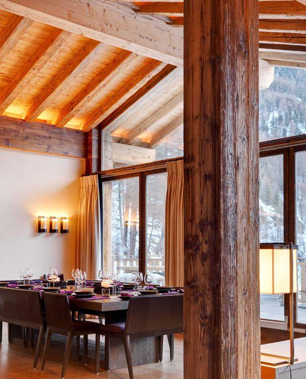 Wonderful dinning room in Switzerland