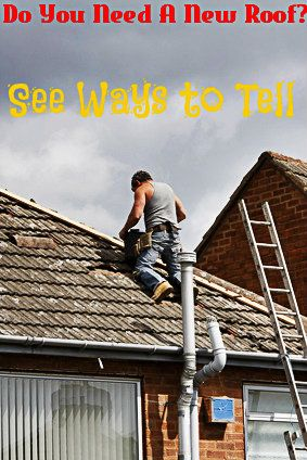 Ways to tell if you need a new roof: http://www.maxrealestateexposure.com/tell-need-new-roof/  #realestate