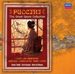Puccini The Great Opera Collection - Decca