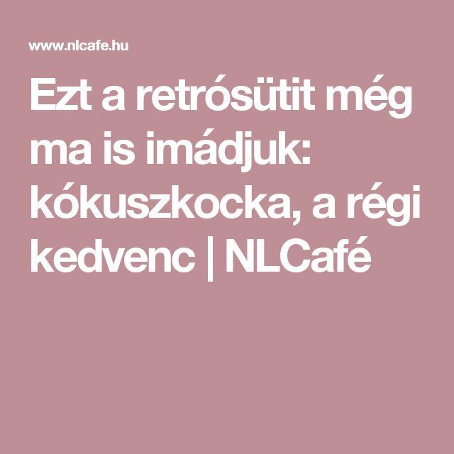 Ezt a retrósütit még ma is imádjuk: kókuszkocka, a régi kedvenc | NLCafé