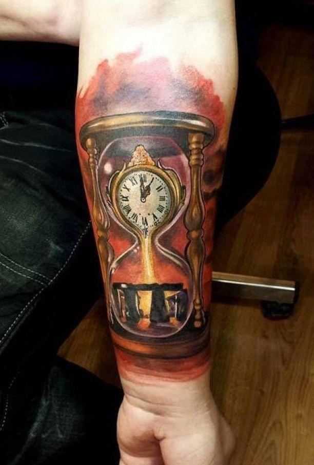 Sanduhr tattoo  26 besten Tattoos Bilder auf Pinterest | Tattoo-Designs, Coole ...