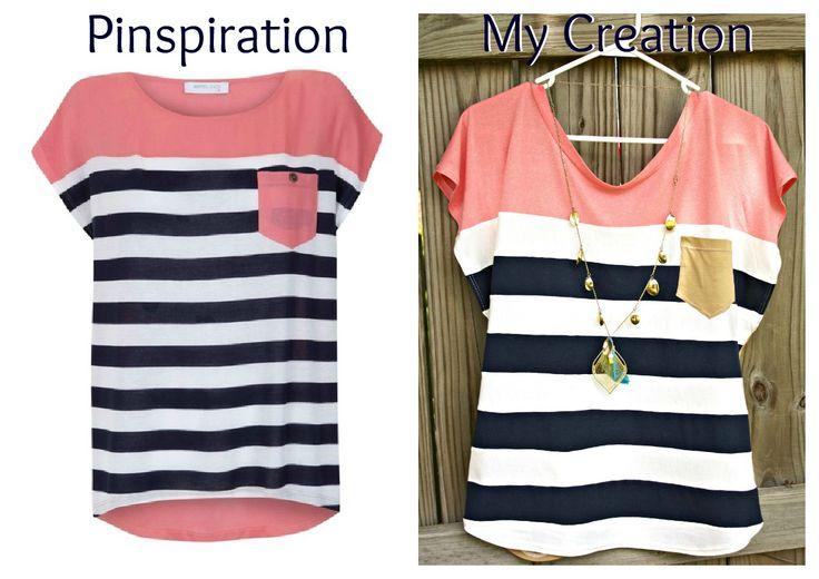 "I Make Stuff.: ""Nautical Diva"" Color Block Shirt Tutorial: Blocks Shirts, Nautical Divas, Diy Sewing, Diy Clothing, Colorblock Shirts, Shirts Tutorials, Sewing Machine, Colors Blocks, Crafts"