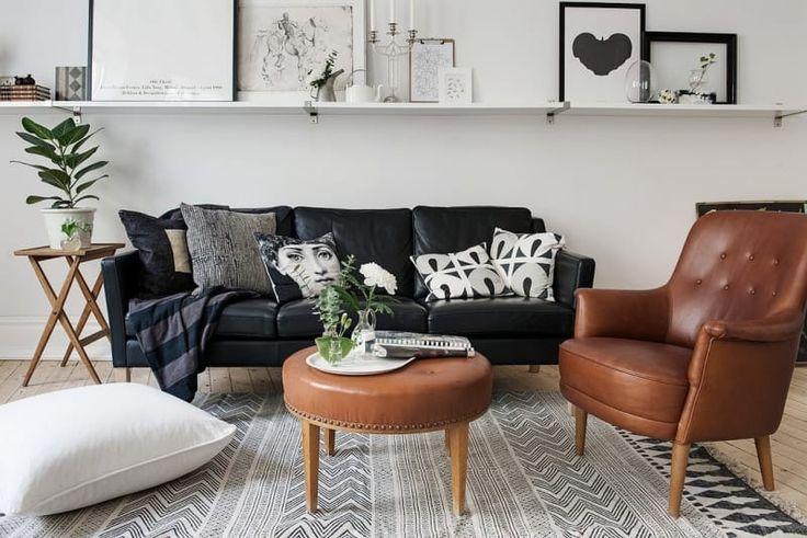 Stylish Solutions for the Space Above the Couch – …