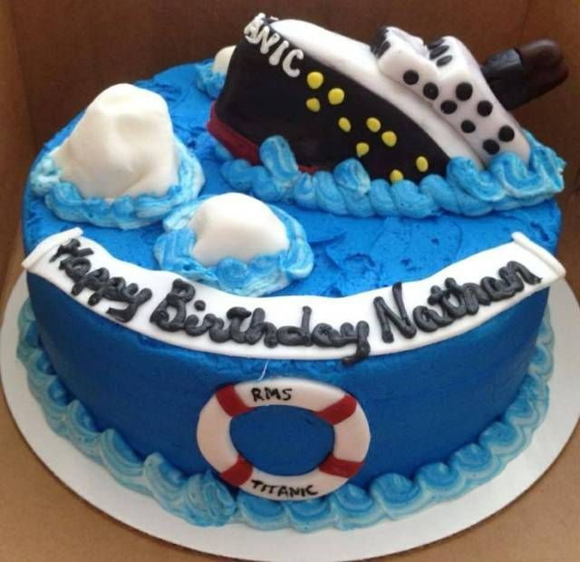 Image result for titanic cake