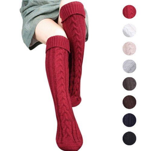12ec26769 Stockings 8 Colors Fashion Women s Stockings Sexy Warm Thigh High Over The Knee  Socks Long Cotton Stockings Girls Ladies Women  Knee socks http   w…