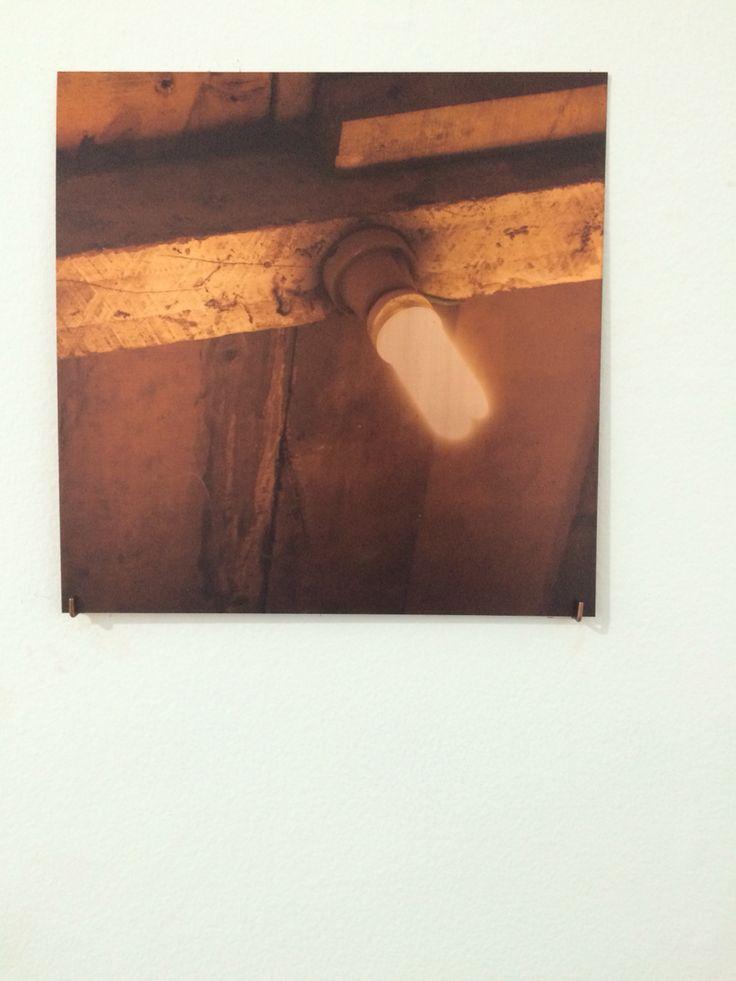 Serie lavamanos , fotografía sobre cobre, Carolina Oltra
