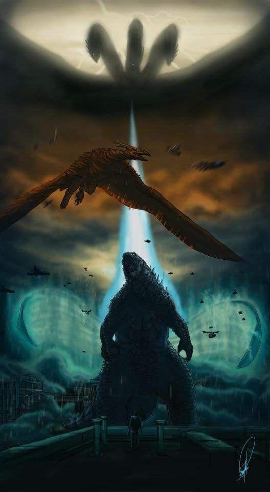 5999cb29c50 Godzilla King of the Monsters with Rodan, Mothra and Ghidorah ...