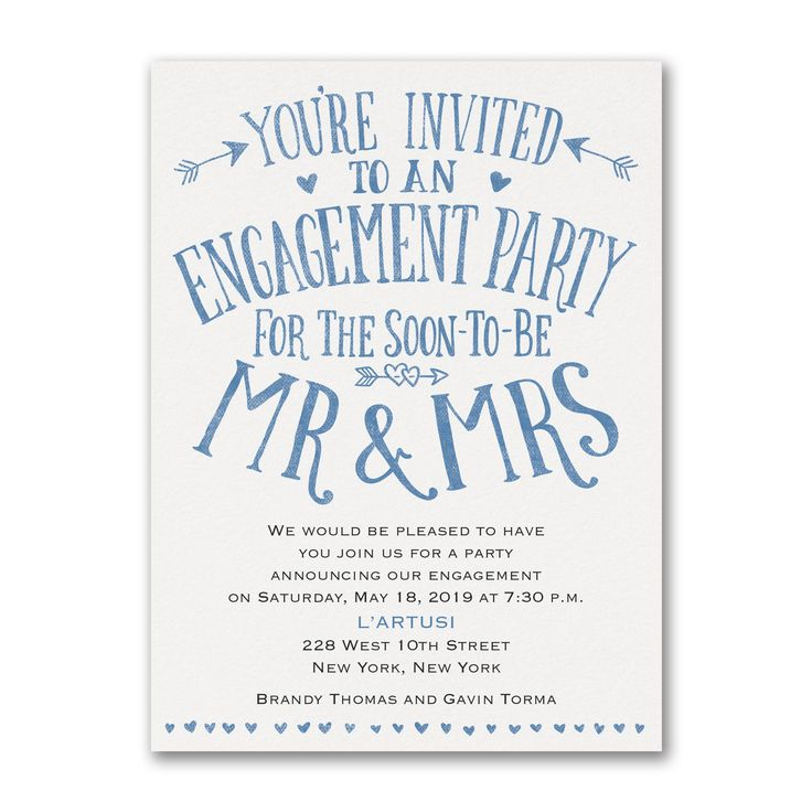 17 best ♥Engagement Party Invitations♥ images on Pinterest - engagement invite templates