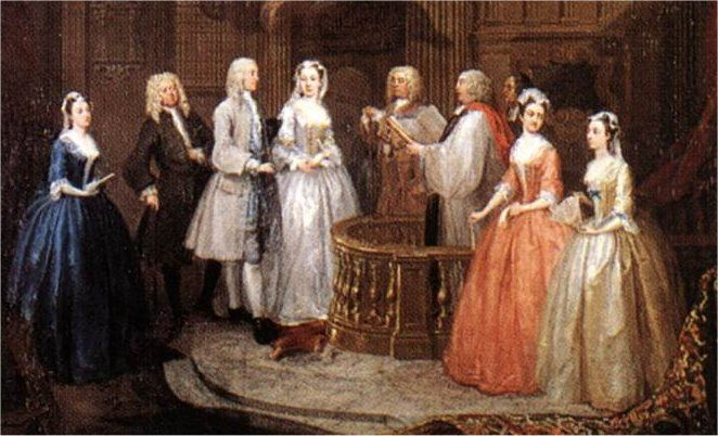 Regency wedding details and history