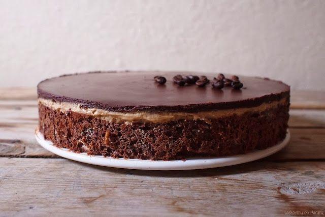 Čokoládovo-kávový dort - laskominy od maryny