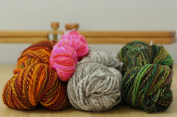 How Setting The Twist Can Change The Yardage of Handspun Yarn — With Wool