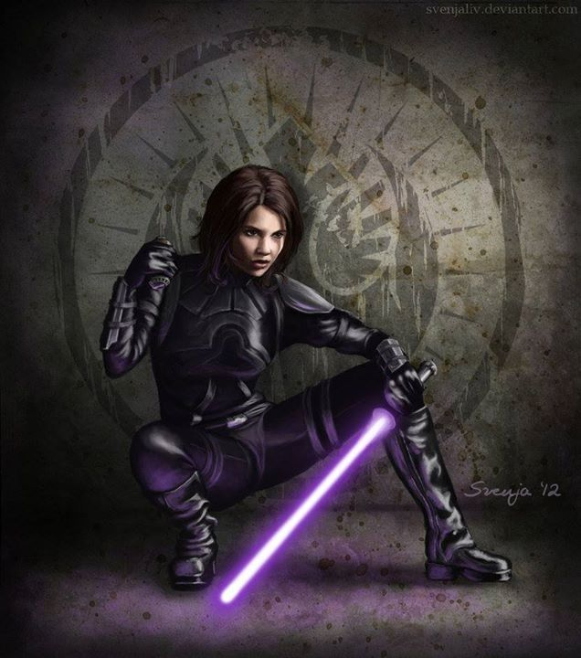 Jaina Solo also known as the Sword of the Jedi