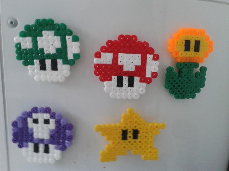 Made some fridge magnets. Saa toivoa itselleenkin tällaisia :)