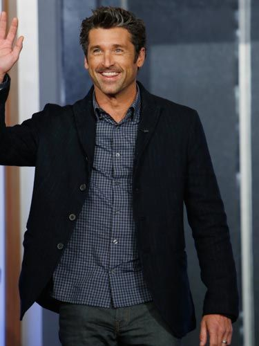 Patrick Dempsey - That Hollywood smile, the sexy streaks of grey through that luscious head of hair...