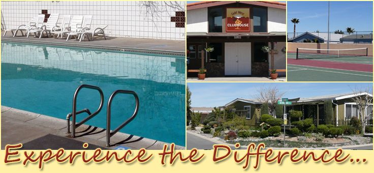 difference in experience - Mobile Home Park