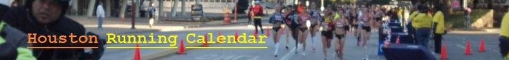 Houston Running Calendar