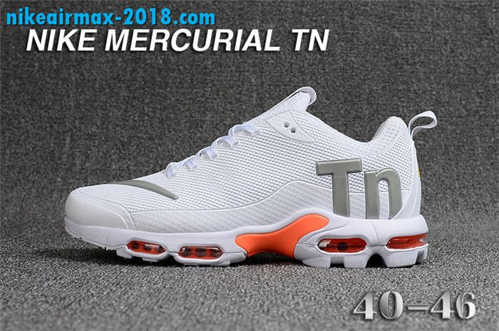 d917aab4ec3 Fashion Mens Nike Air Max TN KPU For Sale White Gray Orange