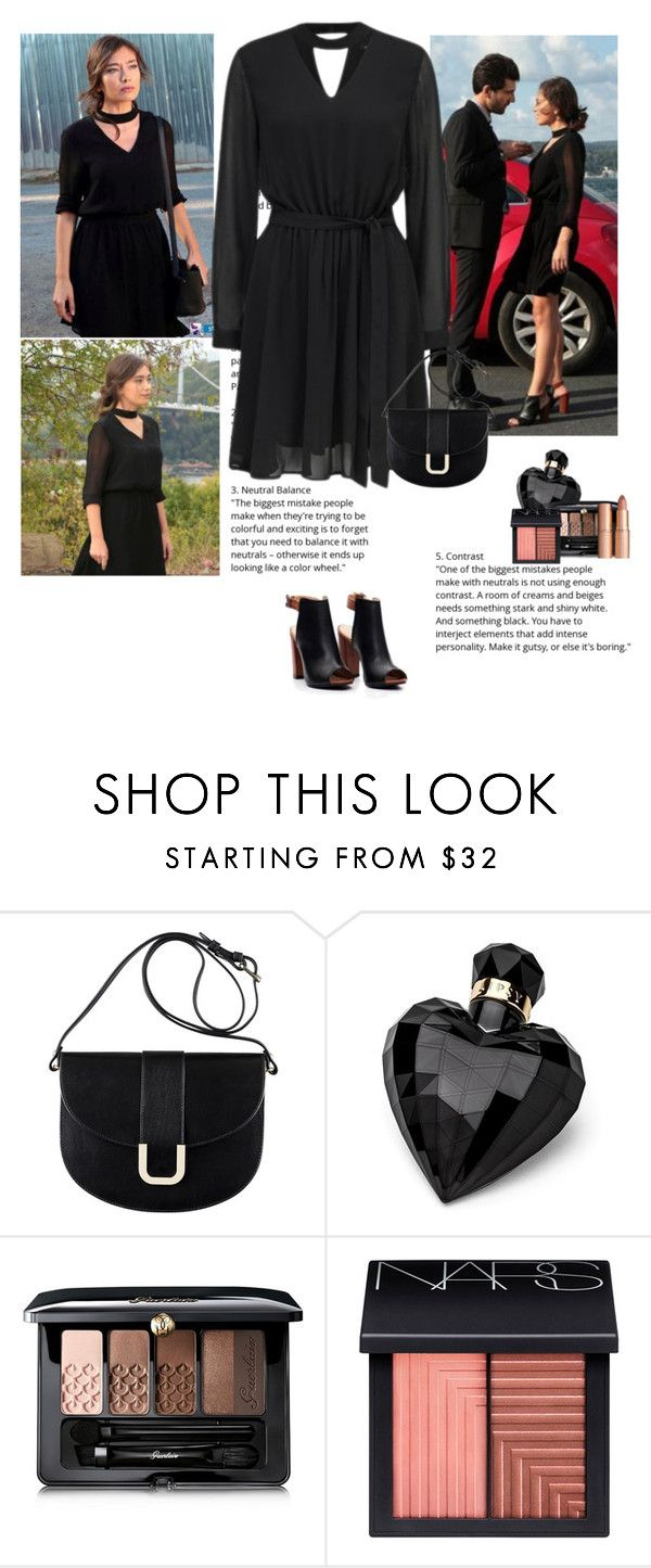 """Kara Sevda Nihan Bolun 37"" by chaneladdicted ❤ liked on Polyvore featuring A.P.C., Lipsy, Guerlain, NARS Cosmetics, Charlotte Tilbury, GetTheLook, series, turkish, Nihan and karasevda"