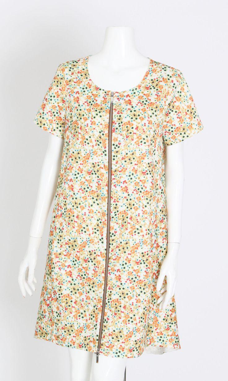 ALYSSA GREEN FLORAL DRESS