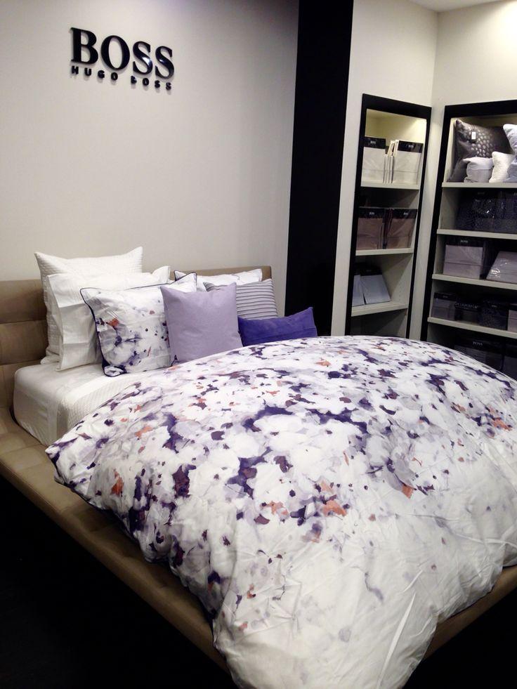 Hugo Boss bedding Watercolor Floral. Hello