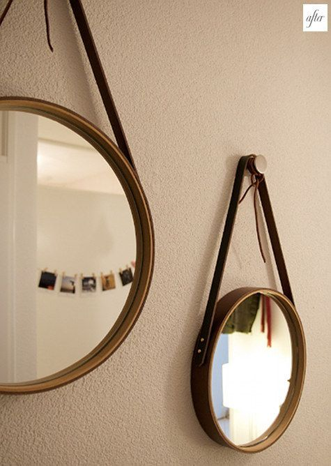Diy round mirrors
