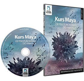 Kurs Maya - od teksturowania do animacji http://strefakursow.pl/kursy/cad_3d/kurs_maya_-_od_teksturowania_do_animacji.html