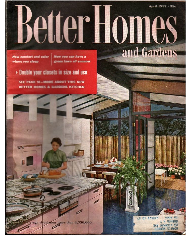Incroyable 1958 Better Homes And Gardens   Google Search