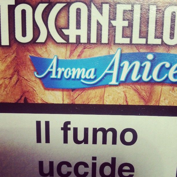 Toscanello Aroma Anice Photo by instagrammer maxcroony