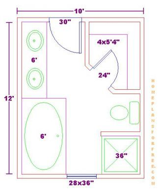 Google Image Result For Http Www Homeplansforfree Com Free Master Bathroom Plansbathroom Floor