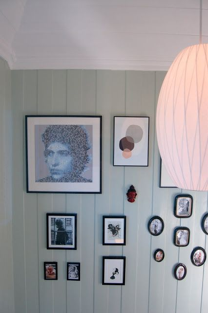 http://ellevillamalla.blogspot.no/, Our home, wall gallery