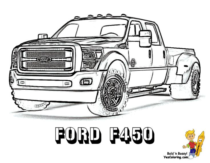 Ford Truck Coloring Pages Free Online Printable Sheets For Kids Get The Latest Images Favorite