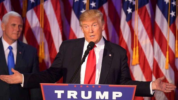 #Elecciones en #EEUU: Discurso de #DonaldTrump tras su victoria  El magnate republicano derrotó a la candidata demócrata, #HillaryClinton.