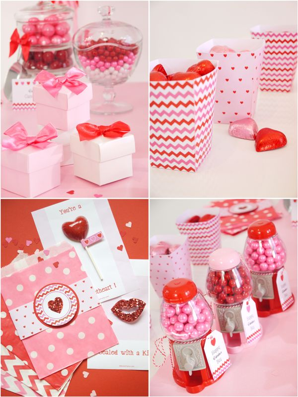 Sweet Heart Valentines Day Desserts Table Printables
