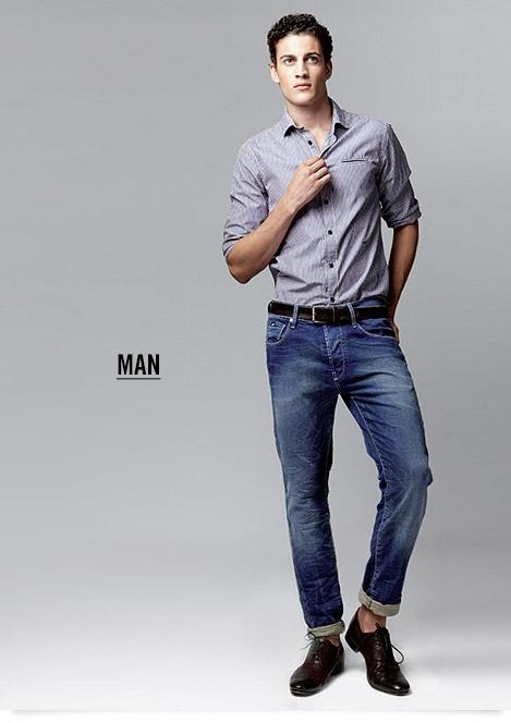 Spring Summer 2013: GAS Jeans Men's Denim Fitting Guide