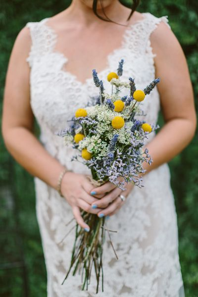 Lavender wedding bouquet. Country style wedding bouquet. Image: Cavanagh Photography http://cavanaghphotography.com.au