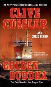 FREE+SHIPPING+!+Golden+Buddha+(The+Oregon+Files)+by+Clive+Cussler+&+Craig+Dirgo+(Paperback-2007)