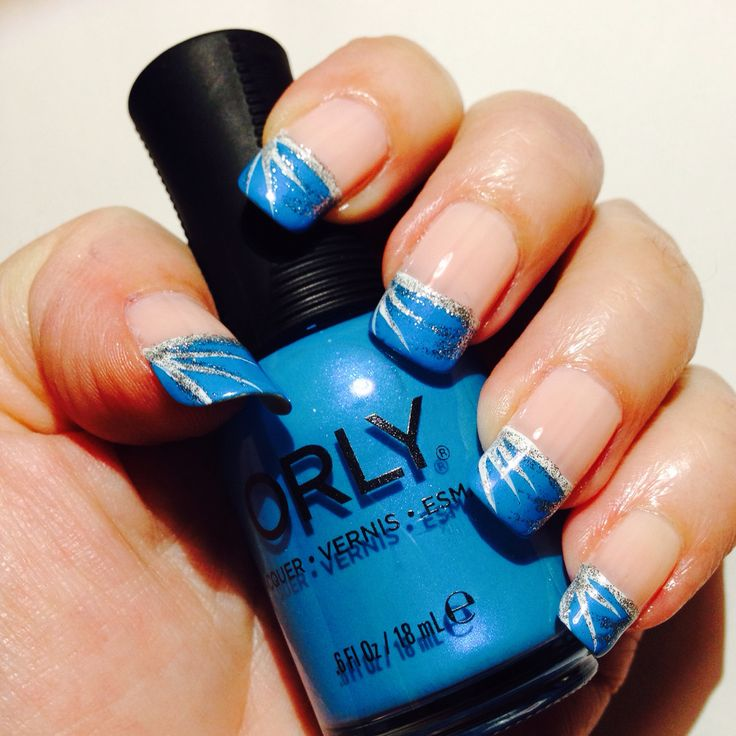 Blue Prom Nails French Tip: 1000+ Ideas About Blue French Tips On Pinterest