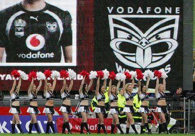 Vodafone Warriors Cheerleaders