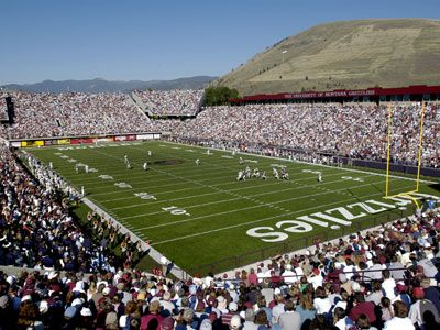 University of Montana Grizzlies Football