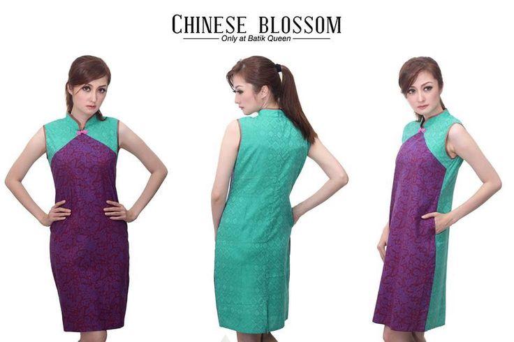 BQ Oriental Get your oriental batik only @BATIK QUEEN www.batikqueen.com WA 081514700777 #batik #qipao #madewithlove #handmade #cheongsam #indonesia #dress #blouse