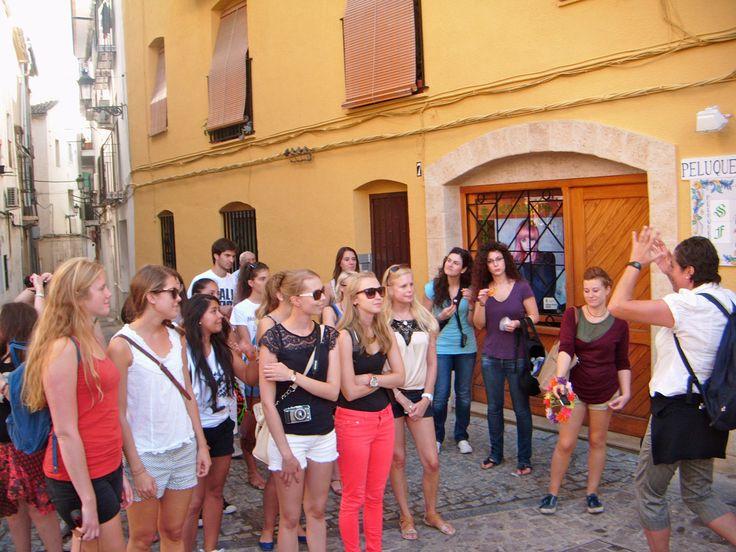 Los Erasmus visitan Cullera