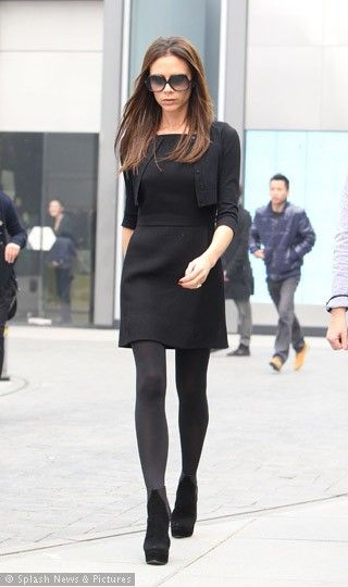Victoria Beckham Little black dress la petite robe noire маленькое черное платье