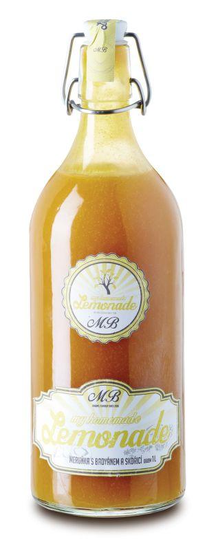 Domácí limonáda meruňka s badyánem a skořicí 1l