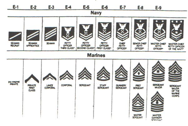 In addition, Navy officers wear collar rank insignias on khaki uniform shirts like those of the corresponding Marine Corps grades. Description from brooksidepress.org. I searched for this on bing.com/images
