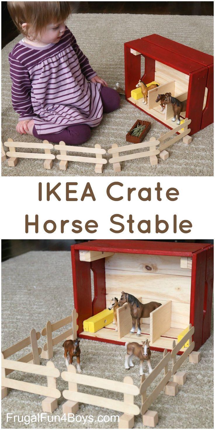 IKEA Hack: Verwandle eine Knagglig-Holzkiste in einen ...