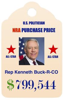 """""""pro-lifer"""" tolerating 3,387 U.S. children injured or killed by guns in 2015 alone.  """"ALL STAR"""" status as a top recipient of NRA cash. Running for re-election, 2016."""